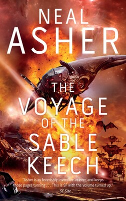 The Voyage of the Sable Keech | Book by Neal Asher