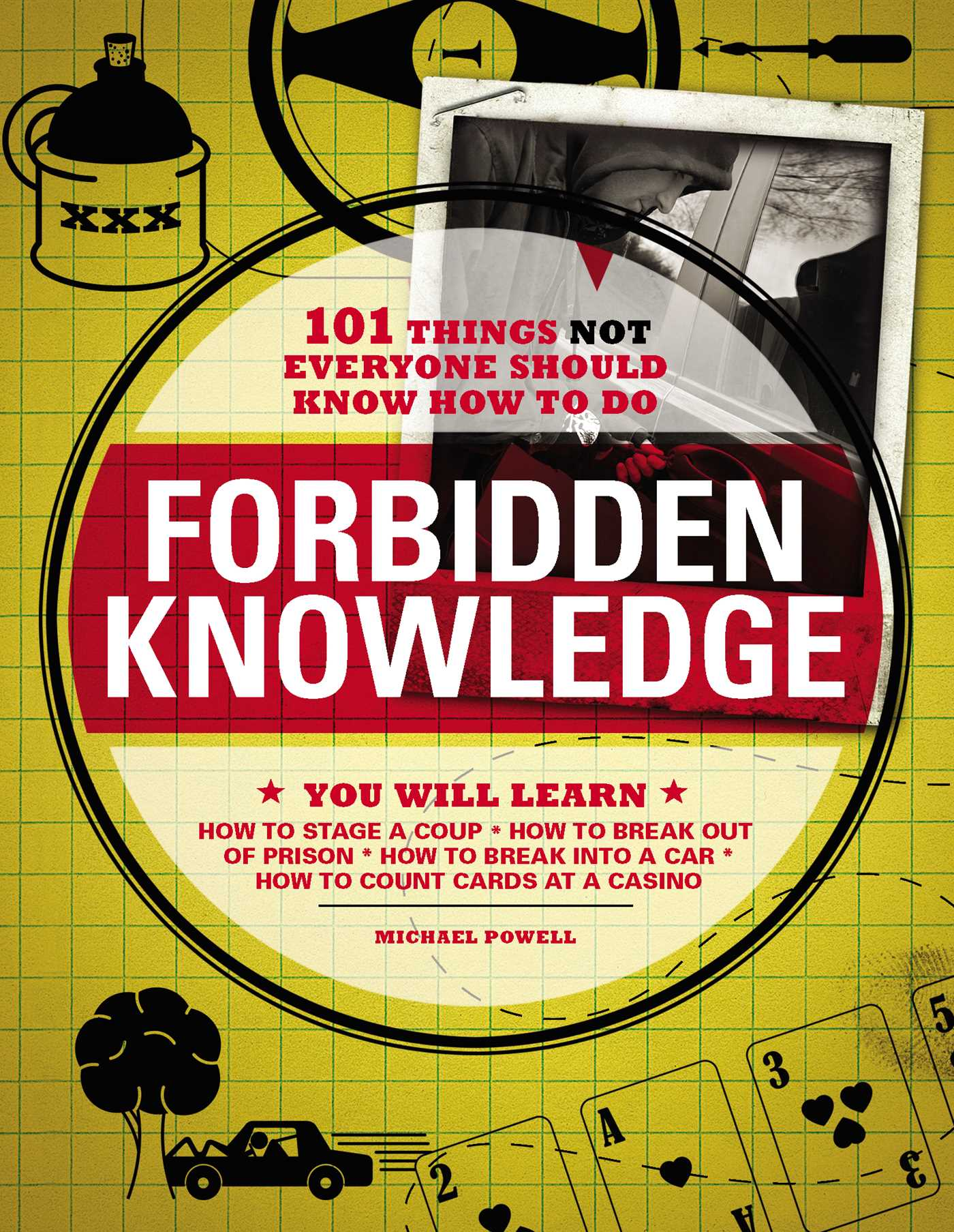 Forbidden Knowledge   Book by Michael Powell   Official