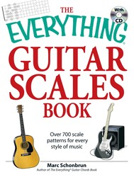 The Everything Guitar Scales Book with CD