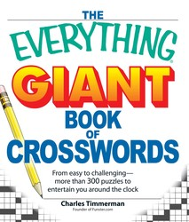 The Everything Giant Book of Crosswords