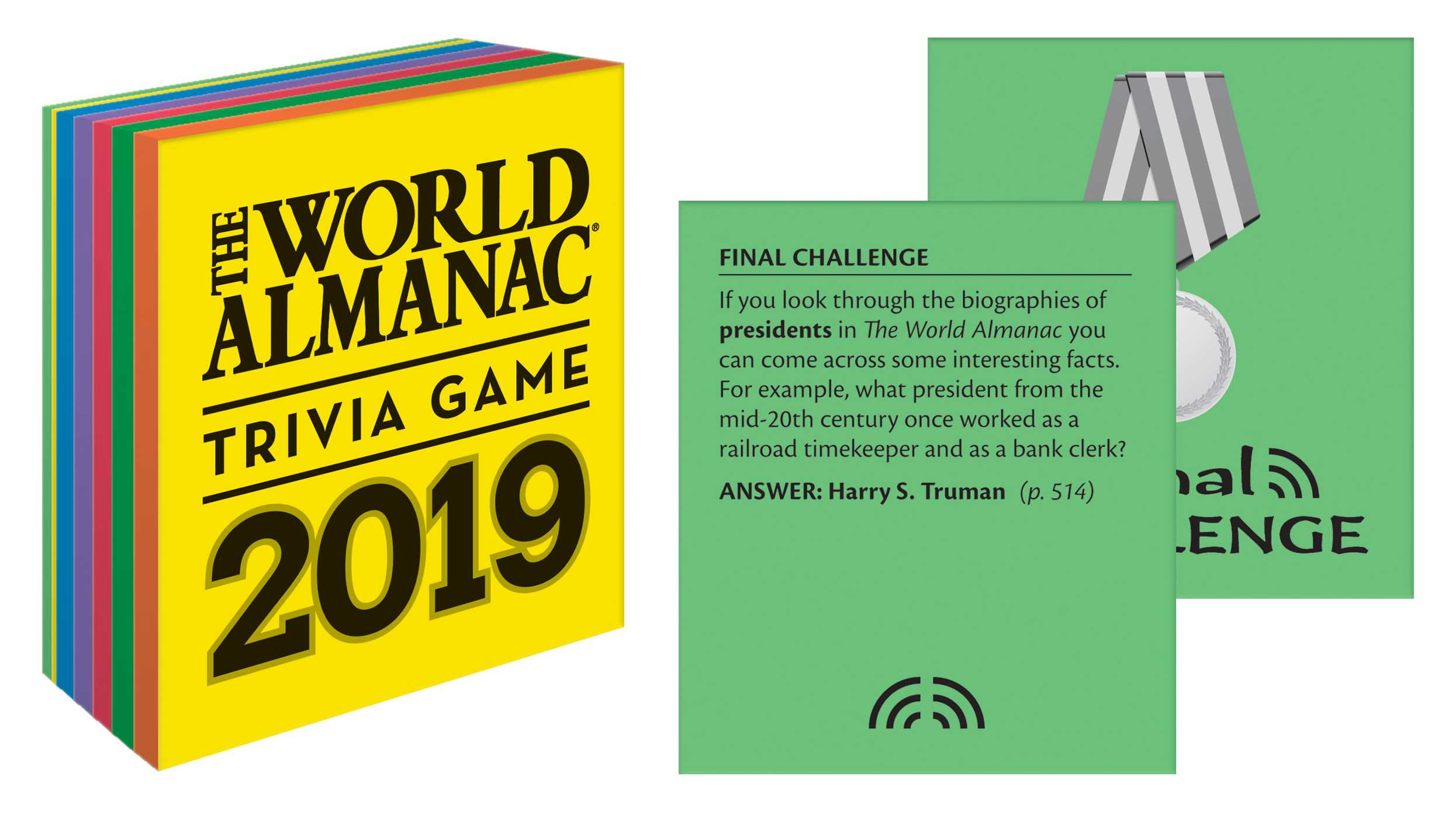 The World Almanac 2019 Trivia Game | Book by Sarah Janssen
