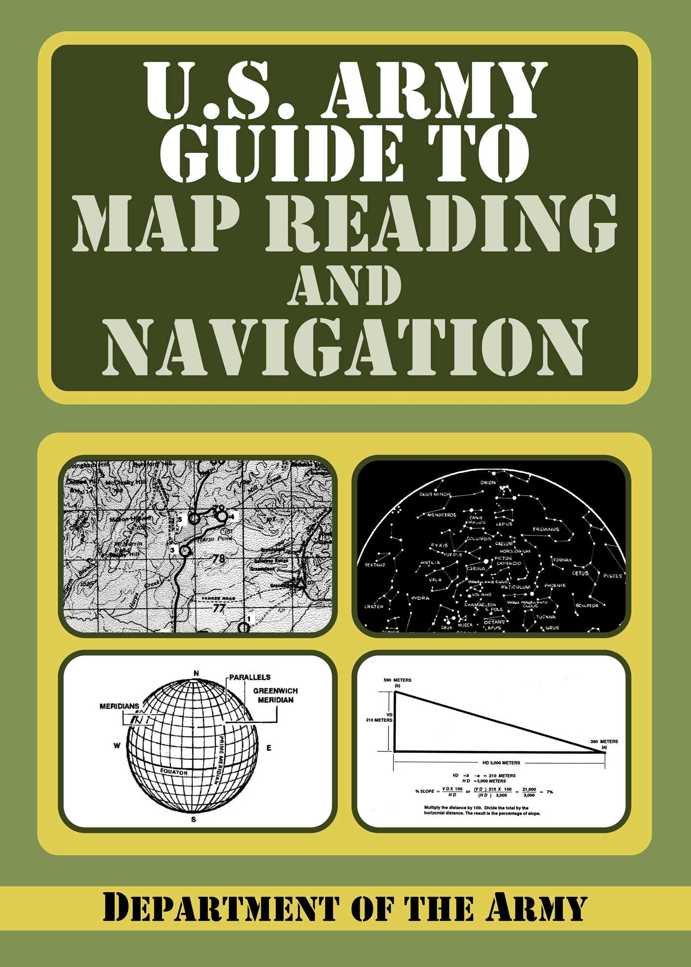 U.S. Army Guide to Map Reading and Navigation | Book by Department Army Map Reading on