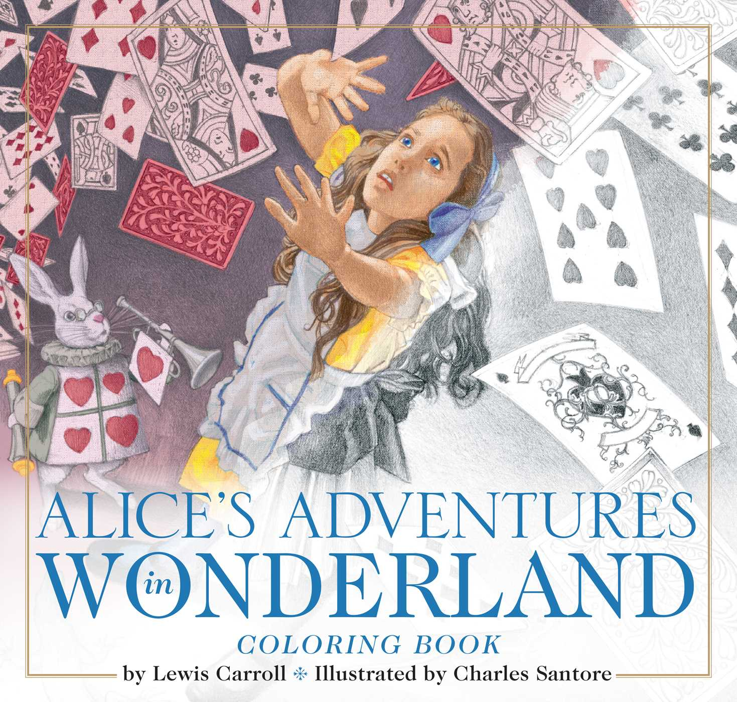The Alice in Wonderland Coloring Book | Book by Lewis Carroll ...