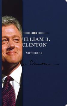 William J. Clinton Signature Notebook