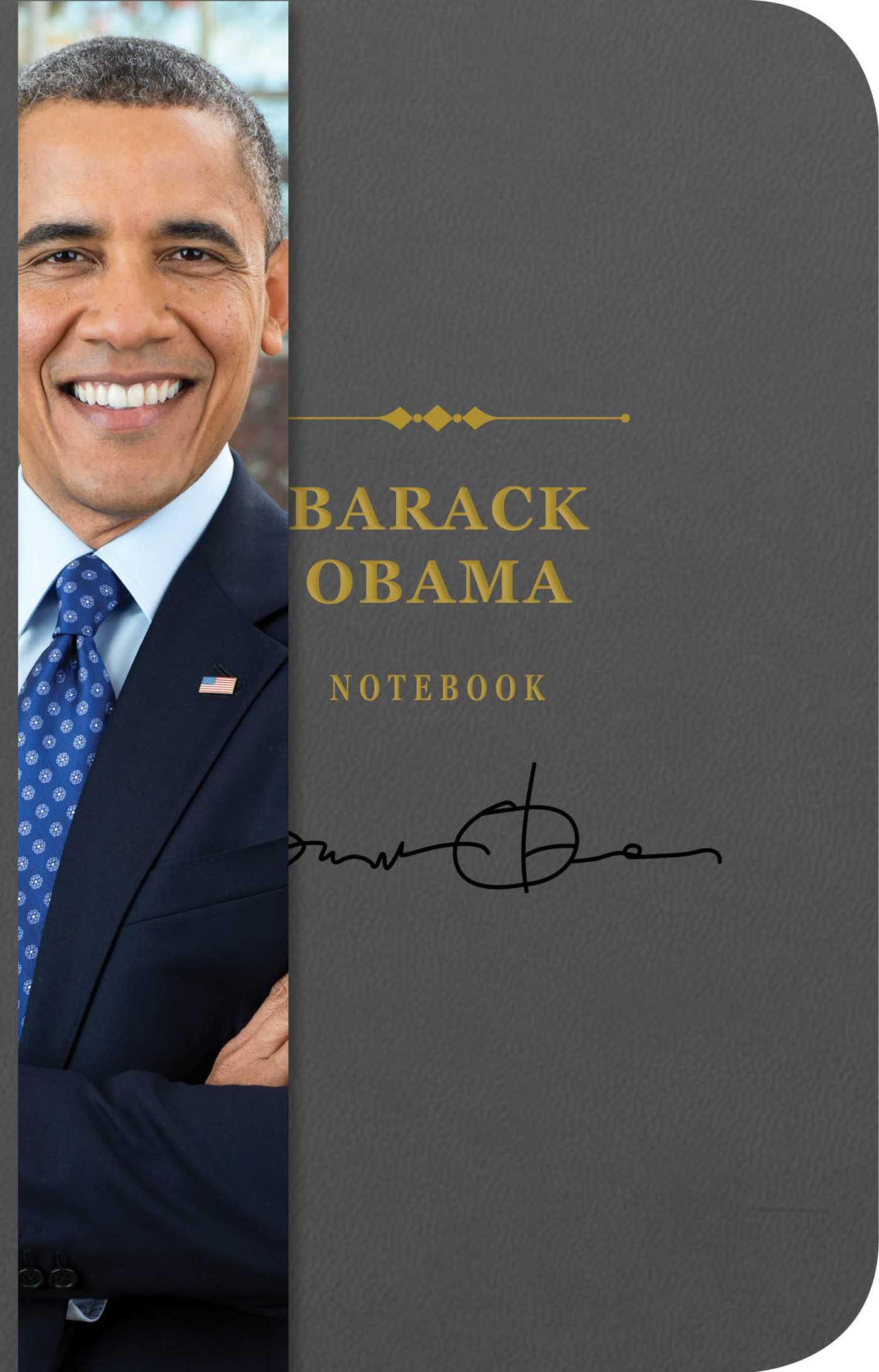 The barack obama notebook 9781604337891 hr