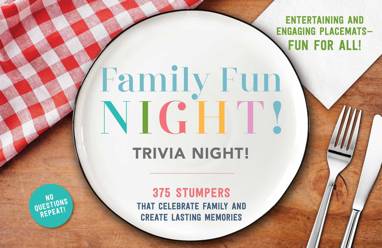 Family fun night trivia night placemats 9781604337976 hr