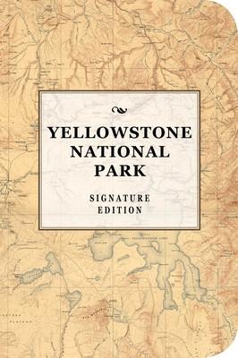 Yellowstone National Park Signature Notebook