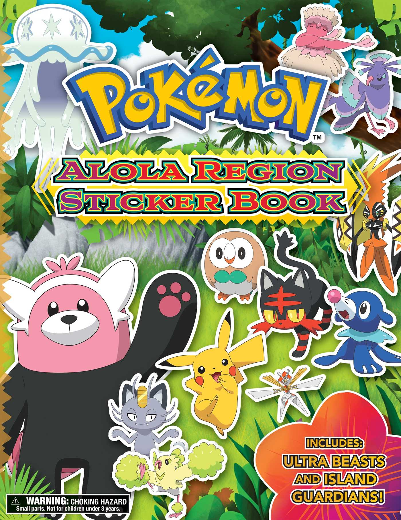 Pok 233 Mon Alola Region Sticker Book Book By The Pokemon