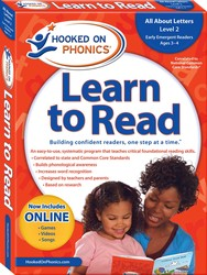 Hooked on Phonics Learn to Read - Level 2