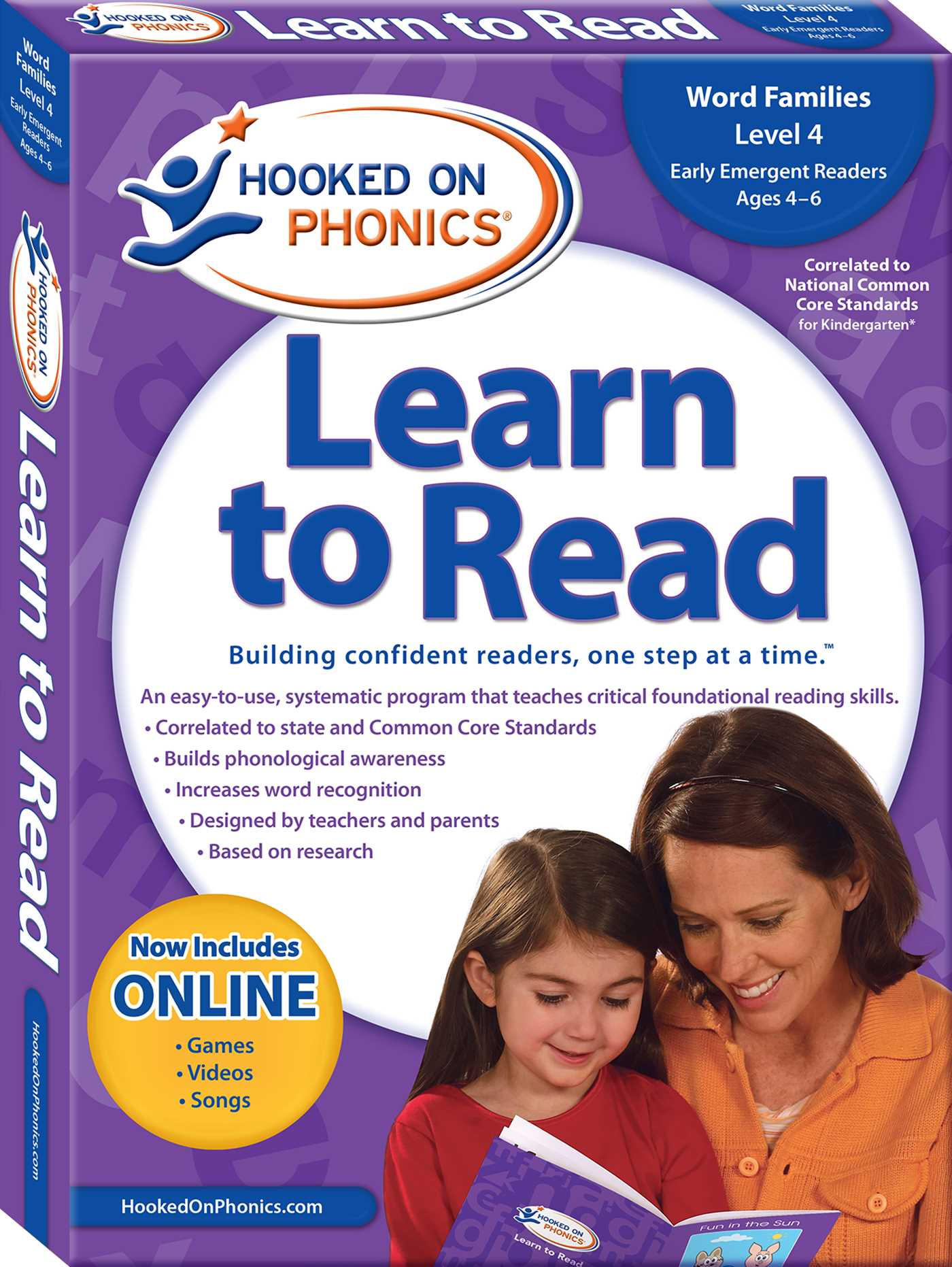 Hooked On Phonics Learn To Read Level 4 Book By Hooked On