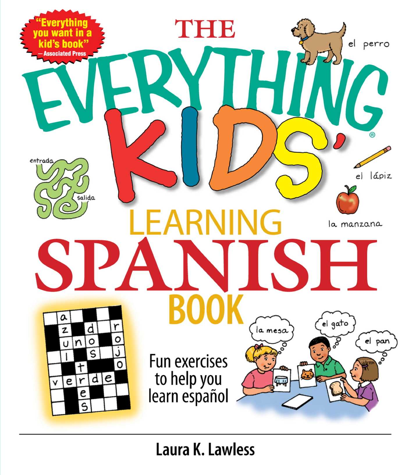 The everything kids learning spanish book ebook by laura k lawless the everything kids learning spanish book 9781605503097 hr fandeluxe Choice Image