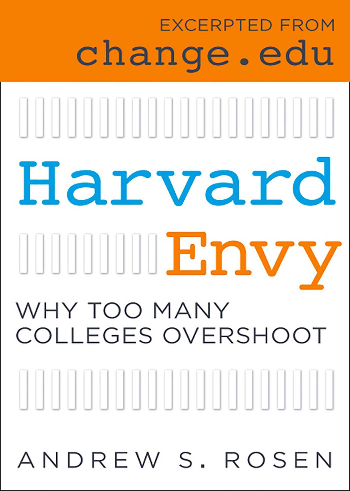 Harvard envy 9781607148821 hr