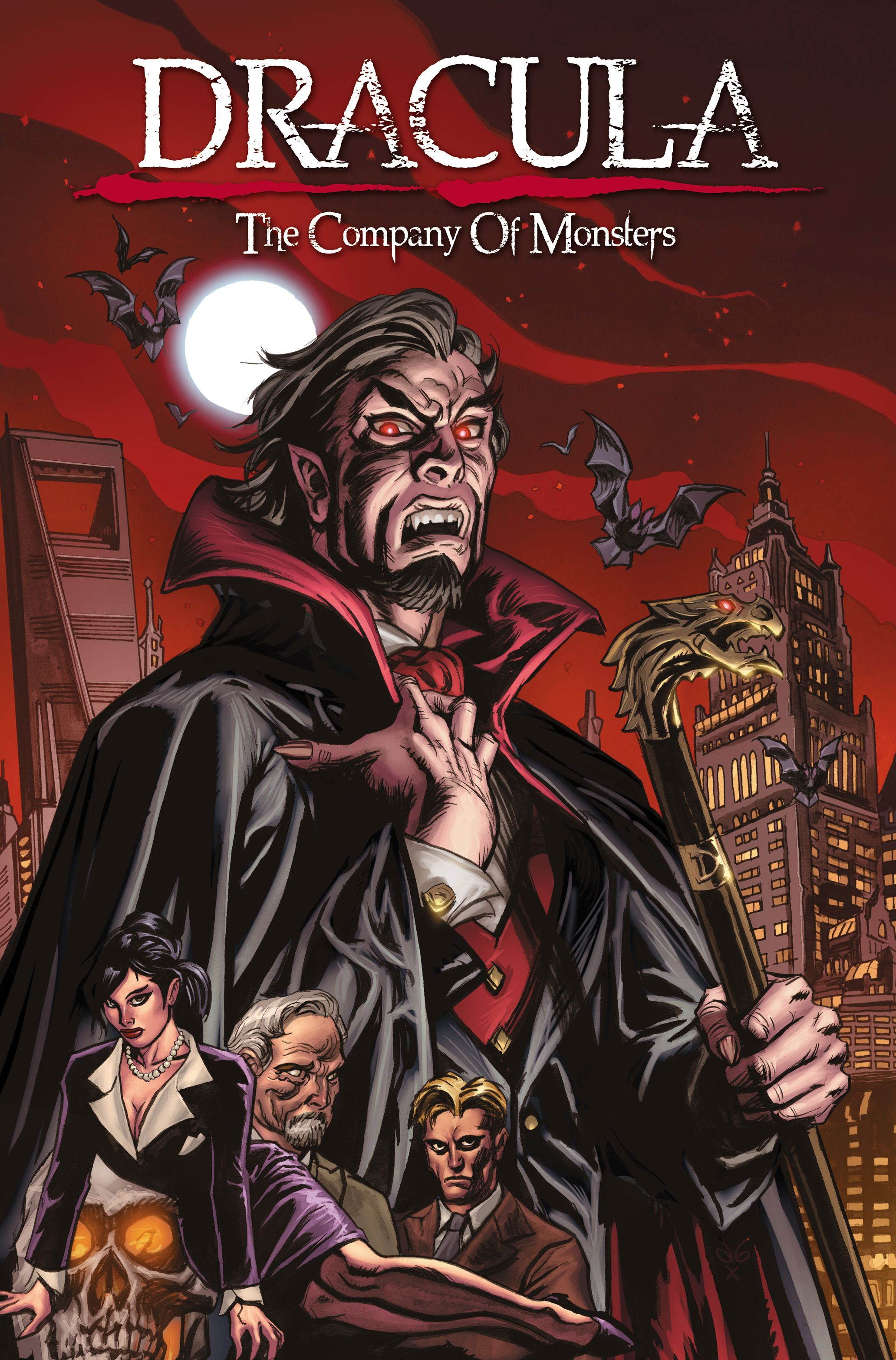Dracula the company of monsters vol 1 9781608860449 hr