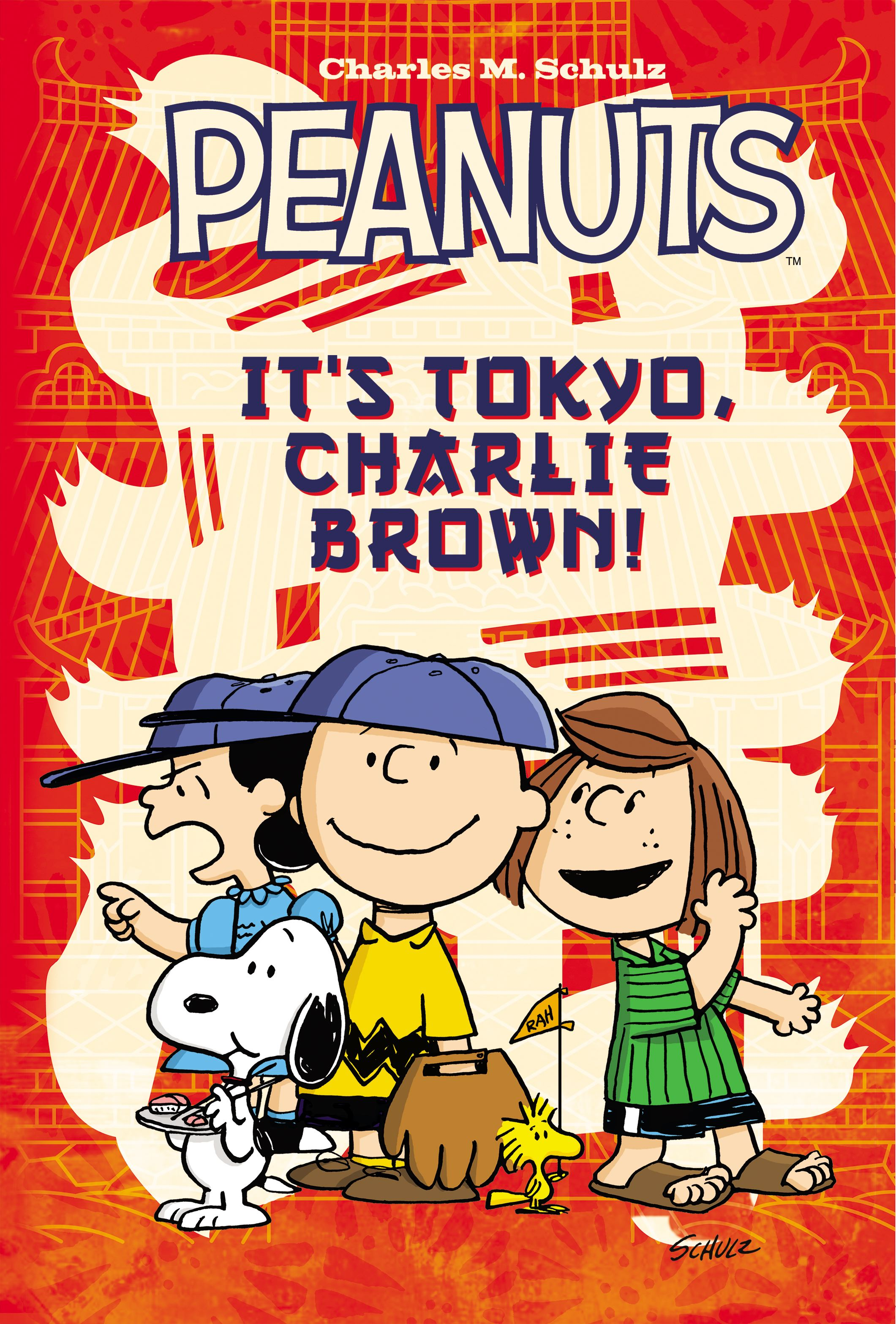 Peanuts its tokyo charlie brown 9781608862702 hr