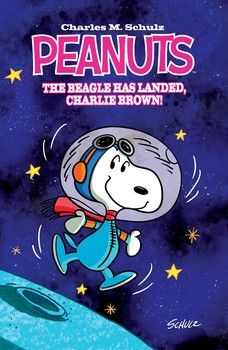 Peanuts The Beagle Has Landed, Charlie Brown Original Graphic Novel