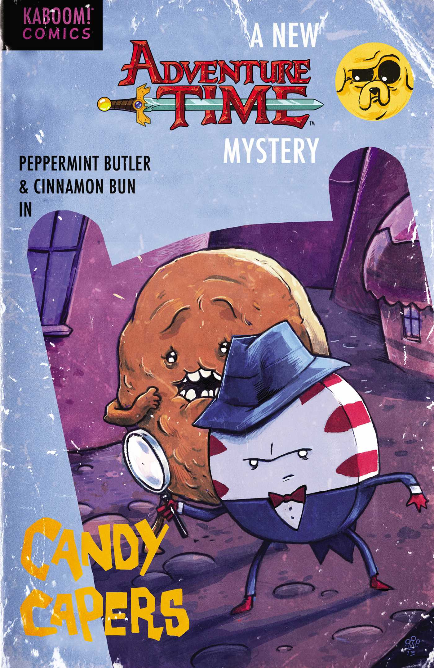 Adventure time candy capers 9781608863655 hr