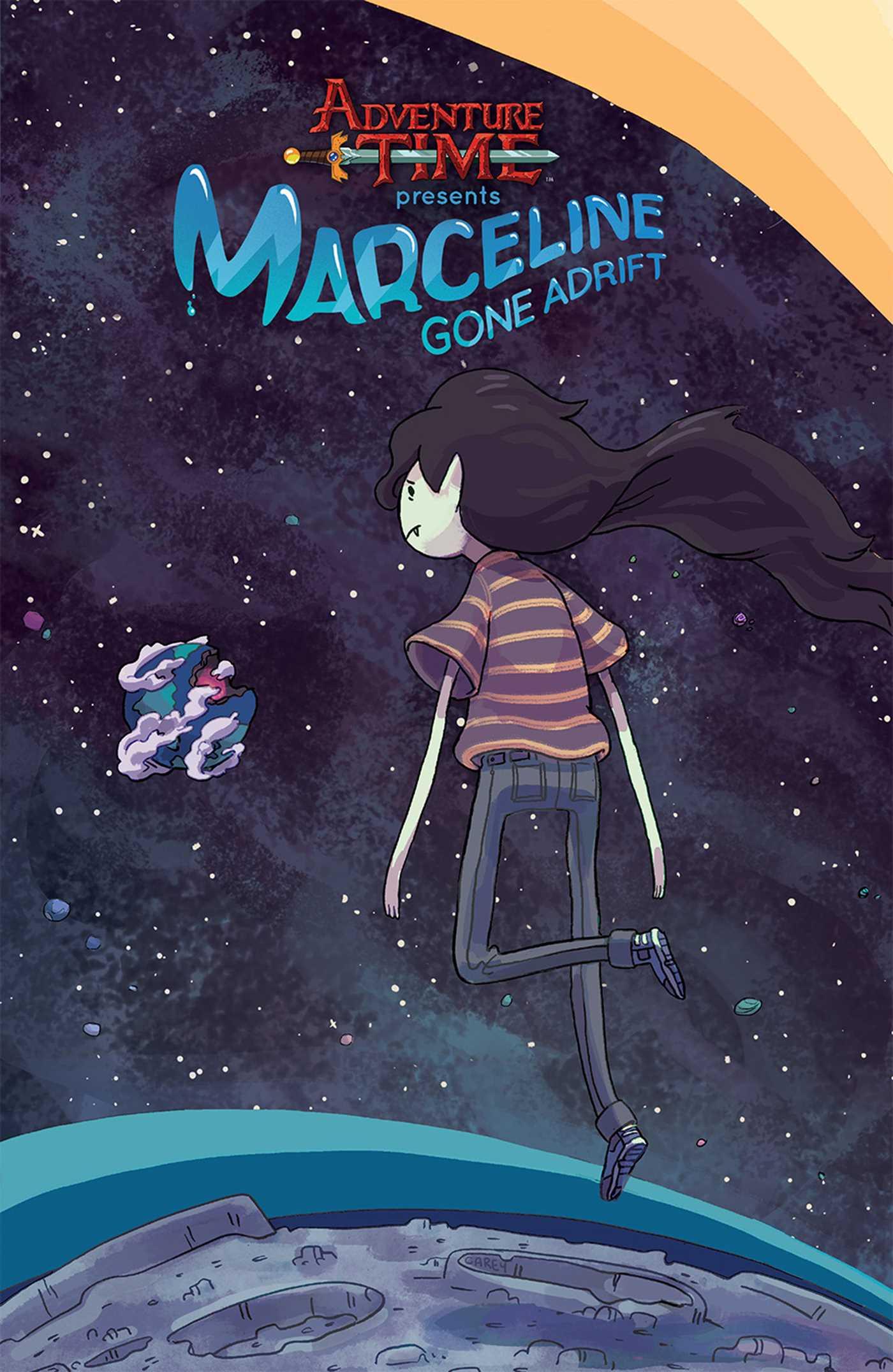 Adventure Time Marceline Gone Adrift 9781608867707 Hr