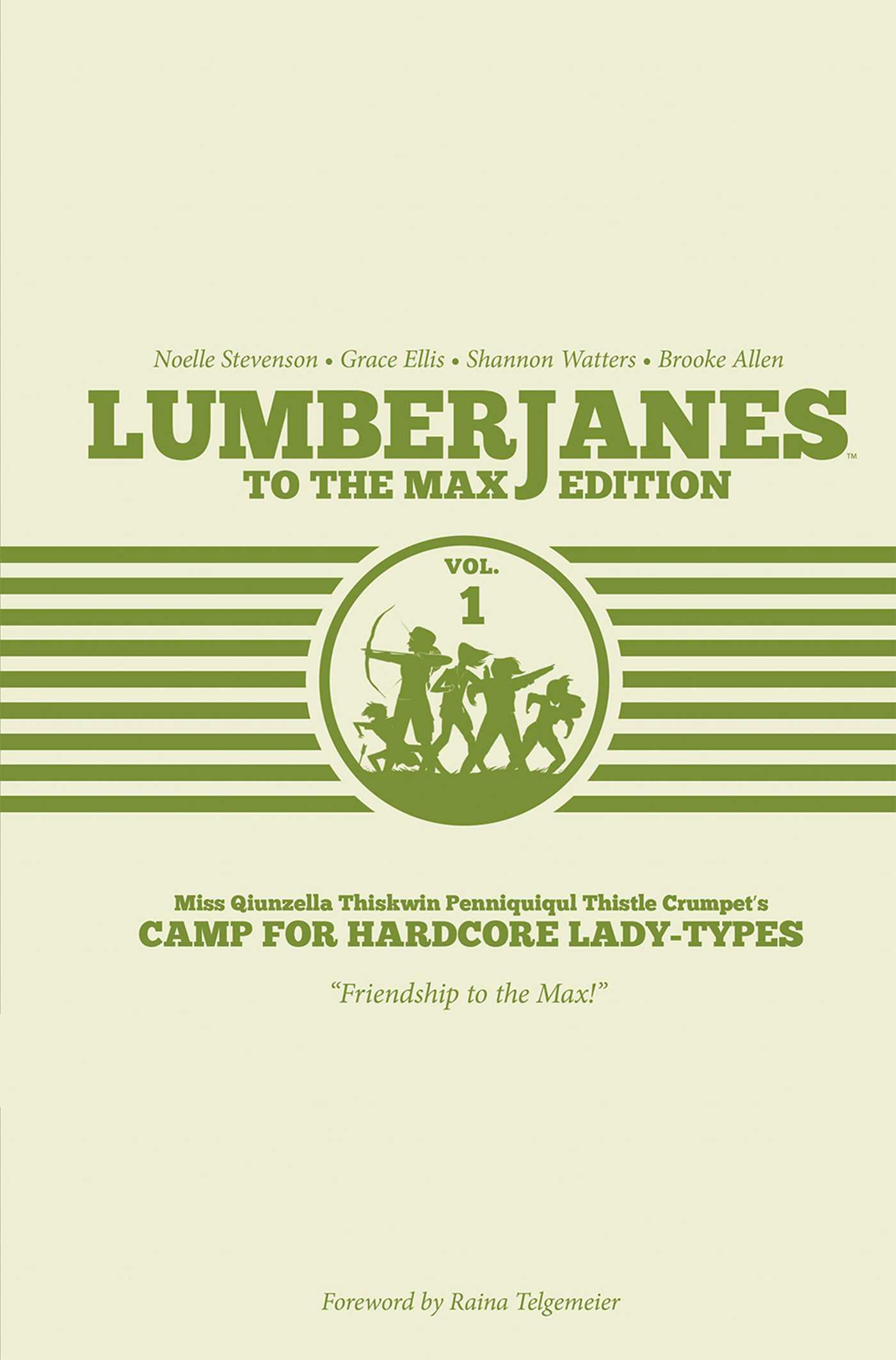 Lumberjanes to the max edition vol 1 9781608868094 hr