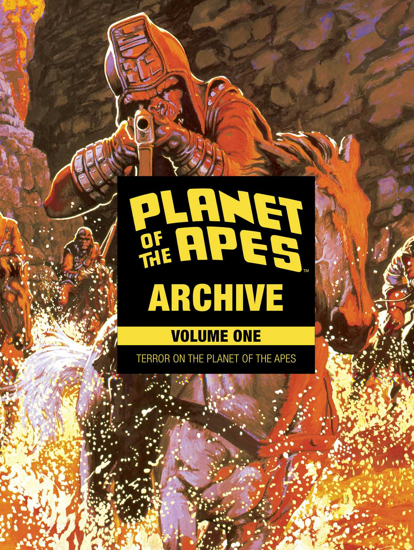 Planet of the apes archive vol 1 9781608869909 hr