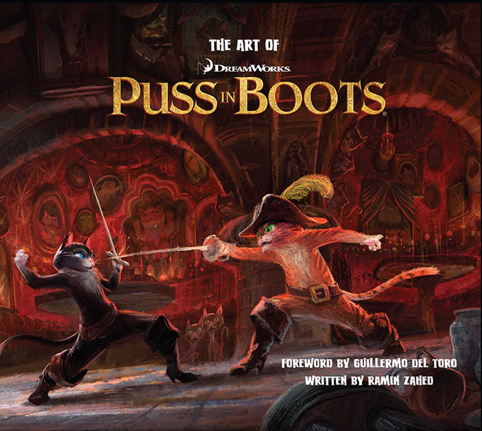 the art of puss in boots | bookramin zahed | official publisher