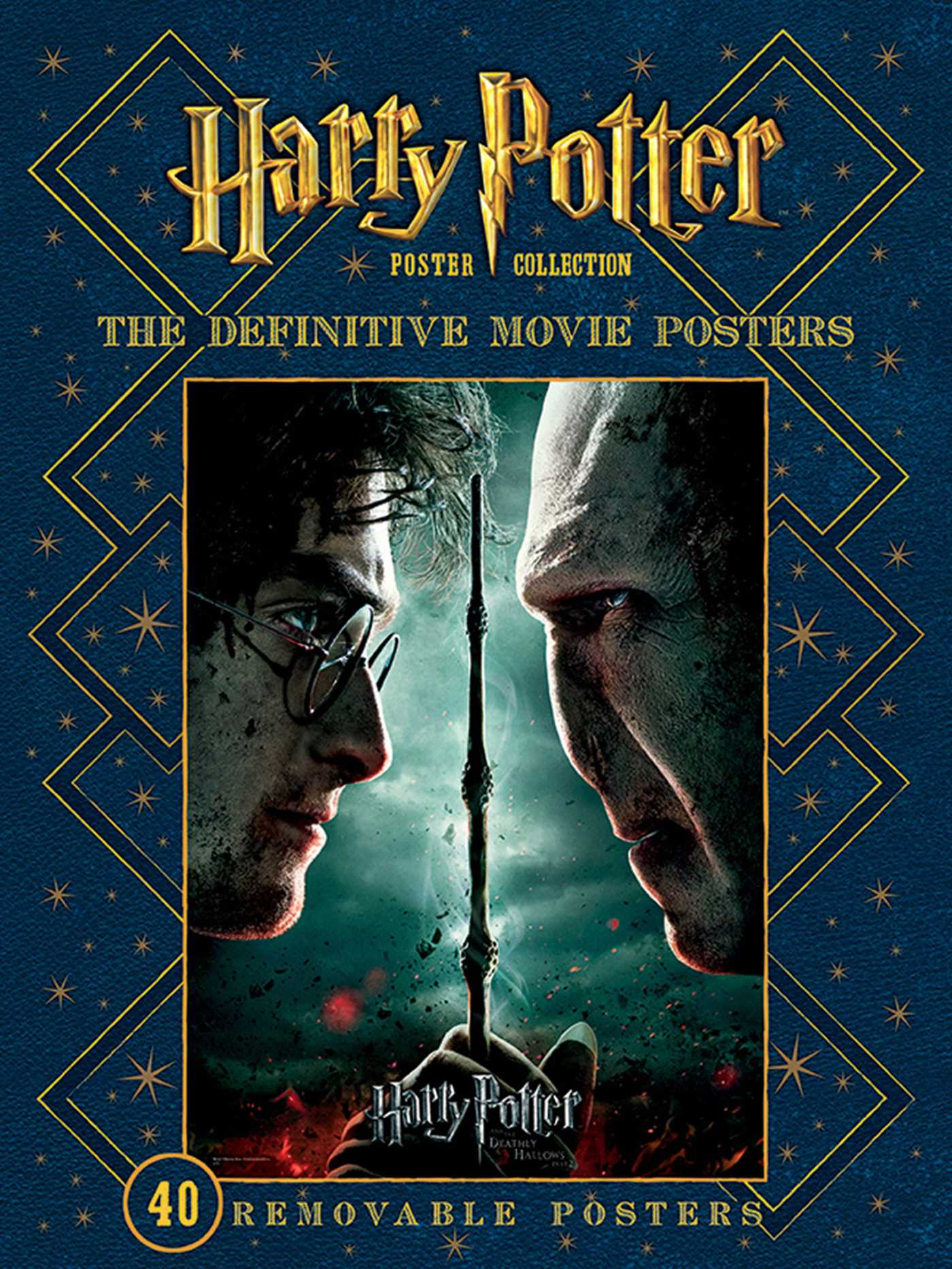 This is a graphic of Hilaire Harry Potter Book Posters
