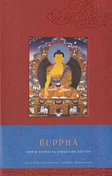 Buddha Hardcover Ruled Journal