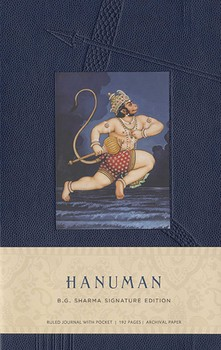 Hanuman Hardcover Ruled Journal