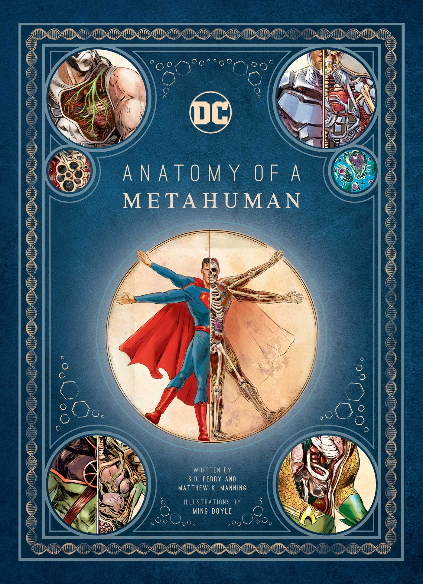 Dc Comics Anatomy Of A Metahuman Book By Sd Perry Matthew