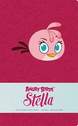 Angry Birds Stella Hardcover Ruled Journal