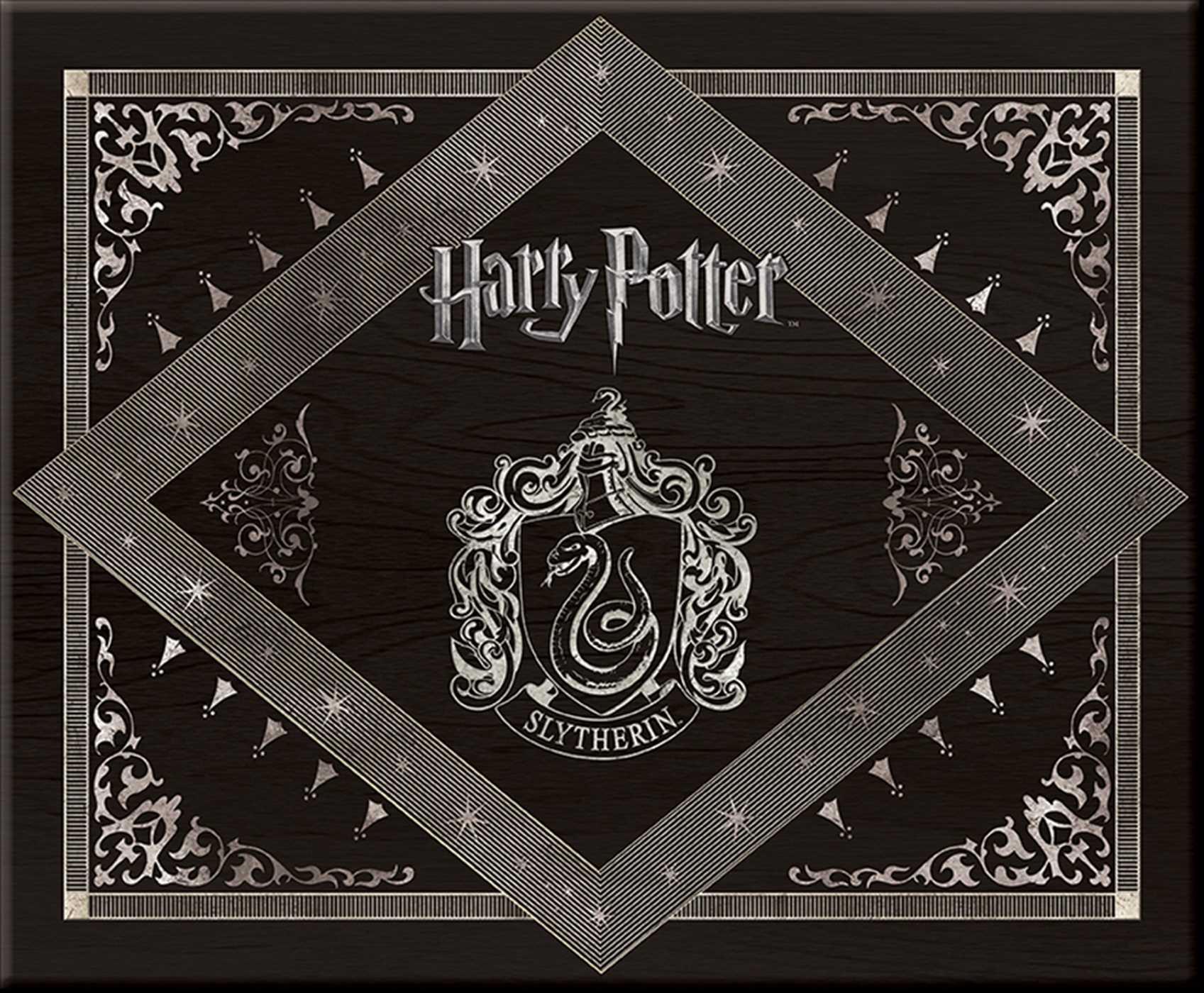 Harry Potter Slytherin Deluxe Stationery Set 9781608876150 Hr