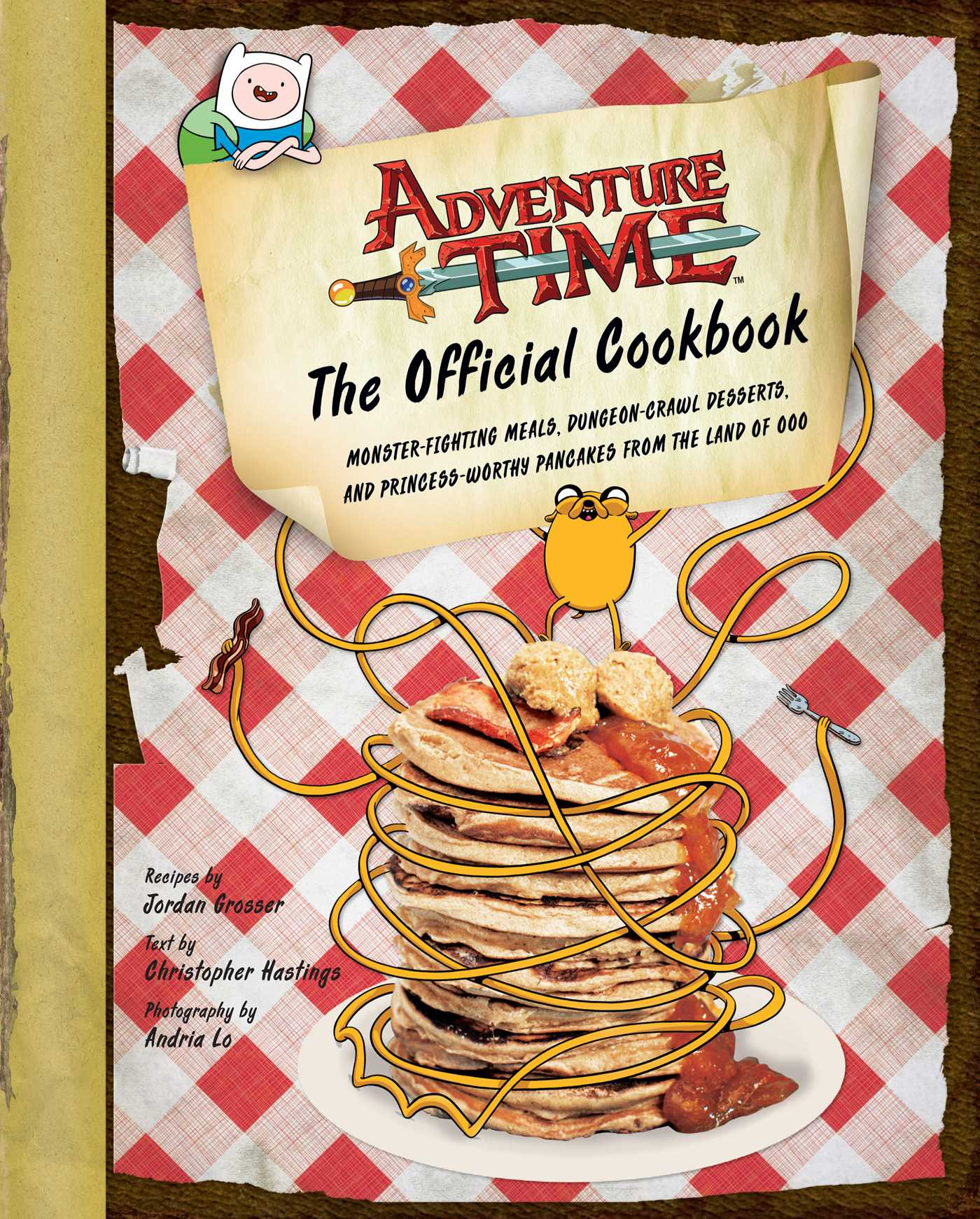 Cook Book Cover Quote : Adventure time the official cookbook book by jordan