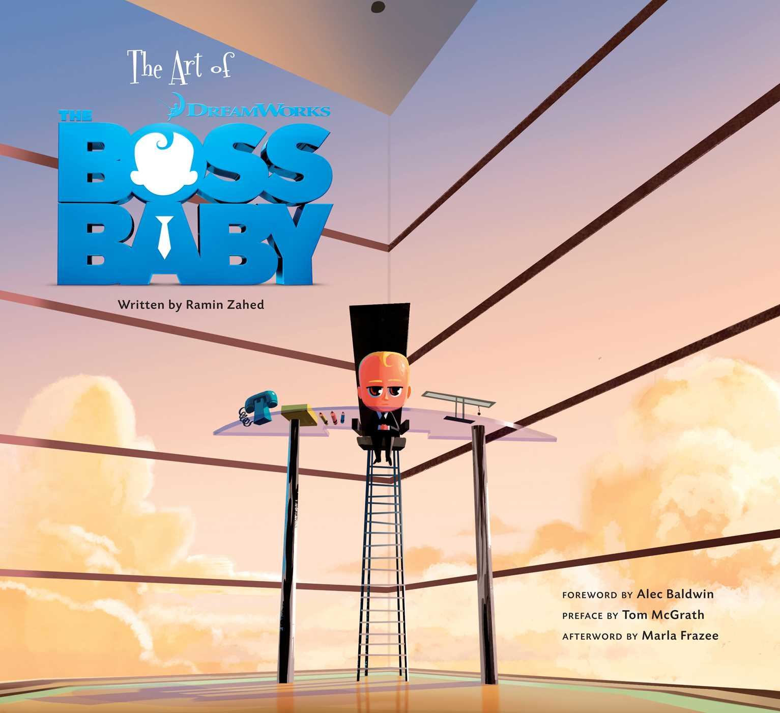The Art Of The Boss Baby Book By Zahed Ramin Alec