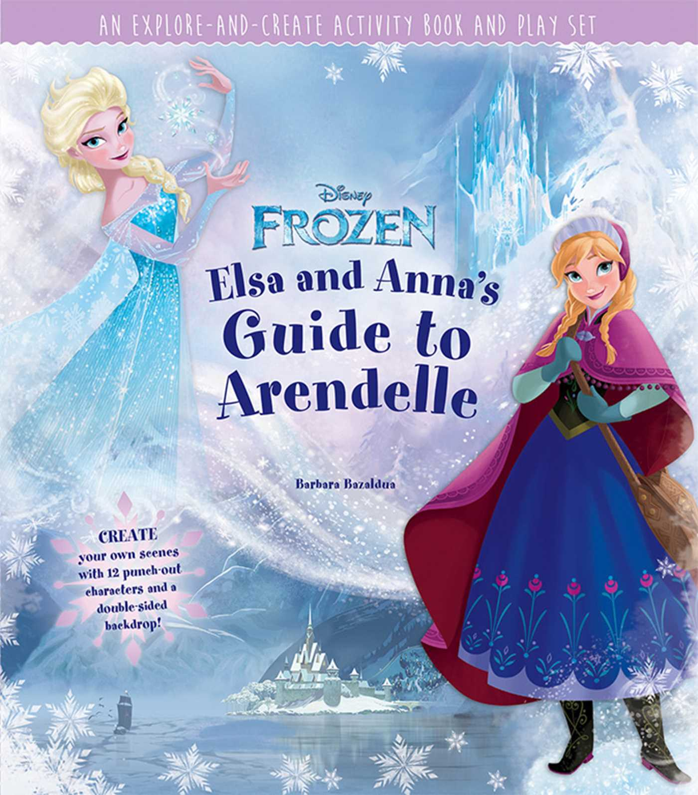 Disney frozen elsa and annas guide to arendelle 9781608876839 hr