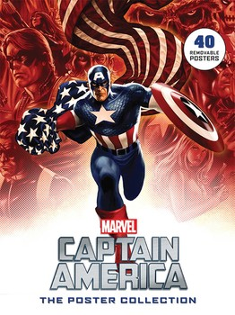 captain america the poster collection book by disney publishing