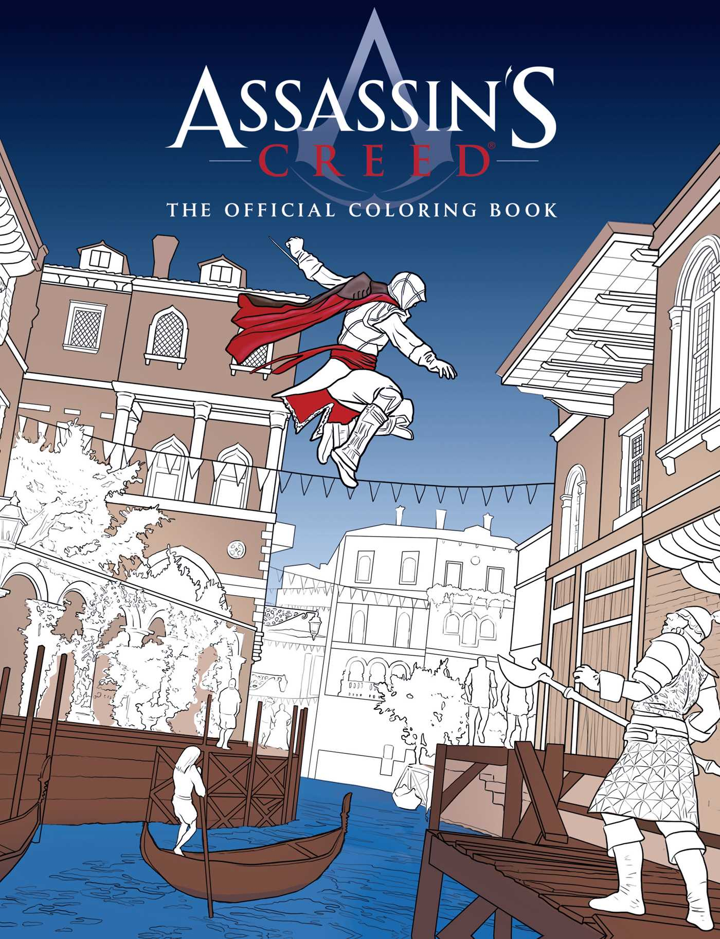 Assassin S Creed The Official Coloring Book Book By Insight