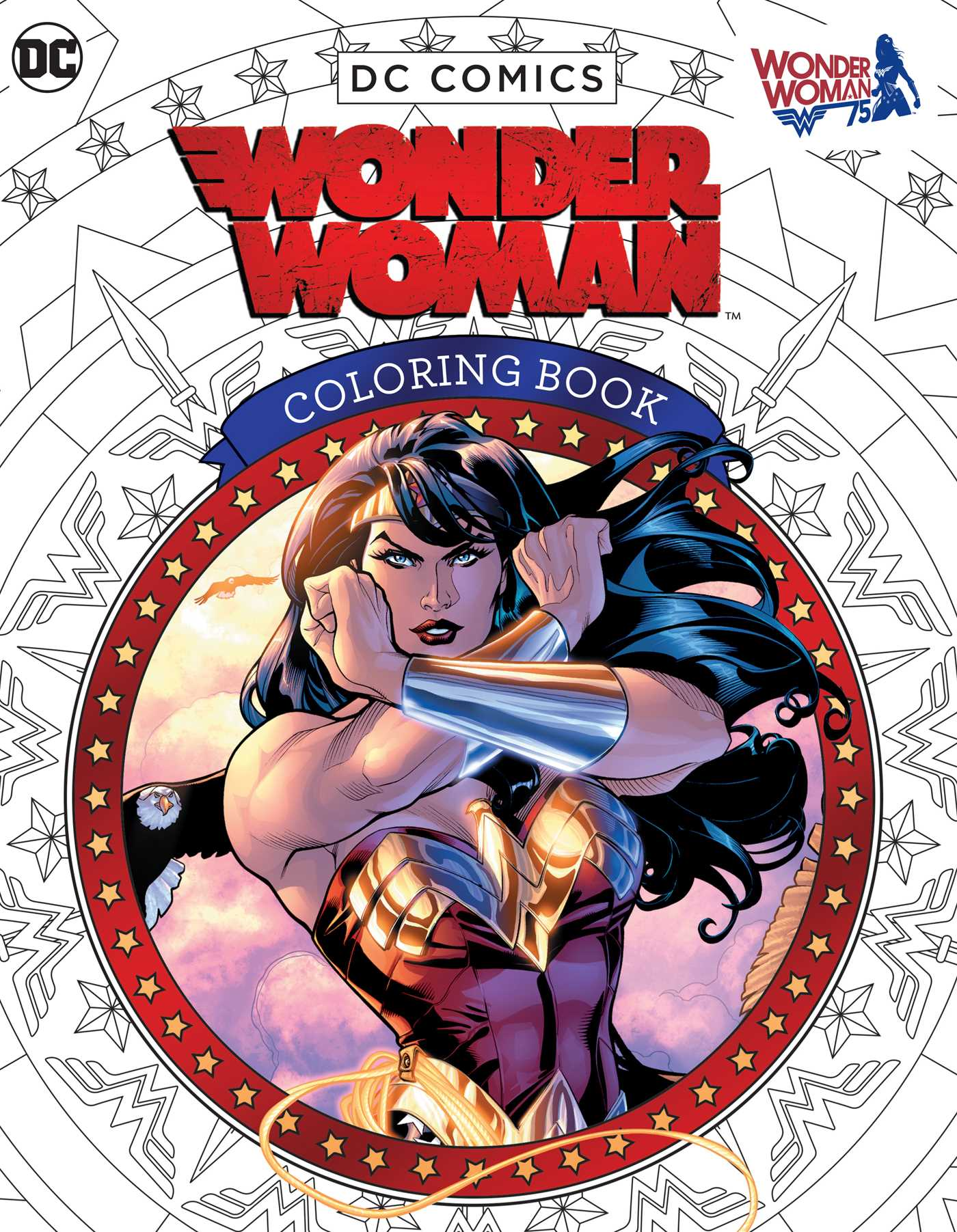 DC Comics: Wonder Woman Coloring Book | Book by Insight ...