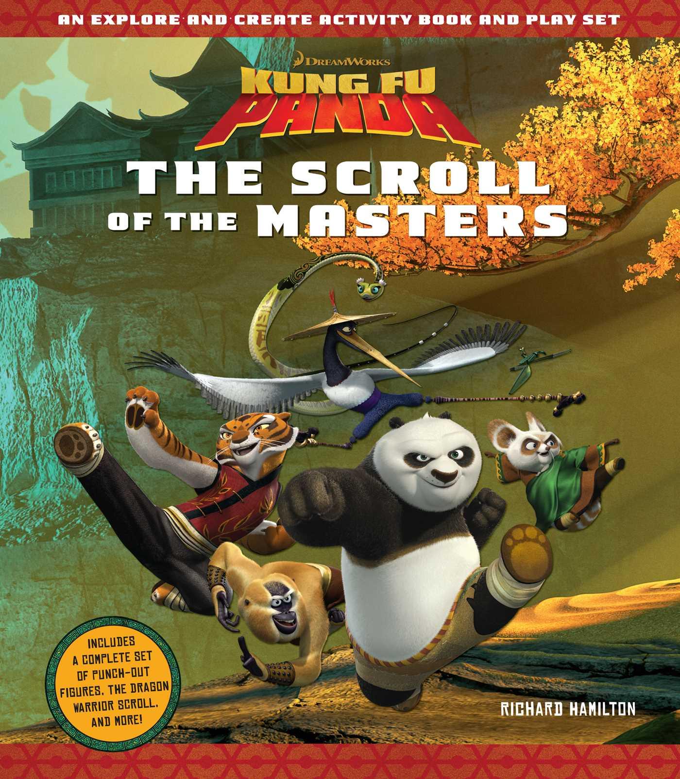 kung fu panda: the scroll of the masters | bookrichard hamilton