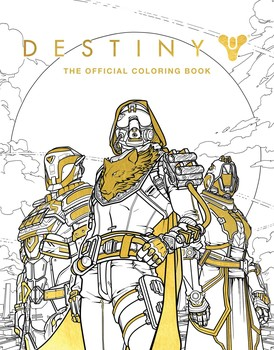 Destiny The Official Coloring Book Book By Bungie Ze