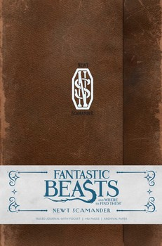 fantastic beasts and where to find them newt scamander hardcover ruled journal insights journals