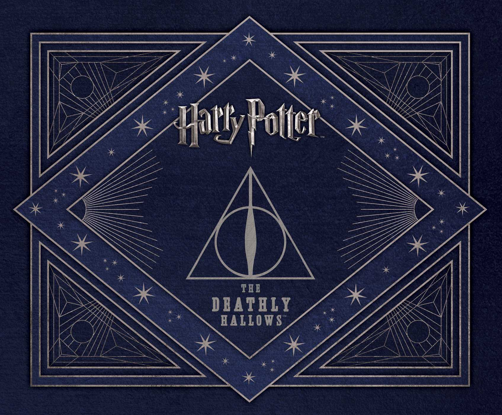 Harry Potter The Deathly Hallows Deluxe Stationery Set Book By