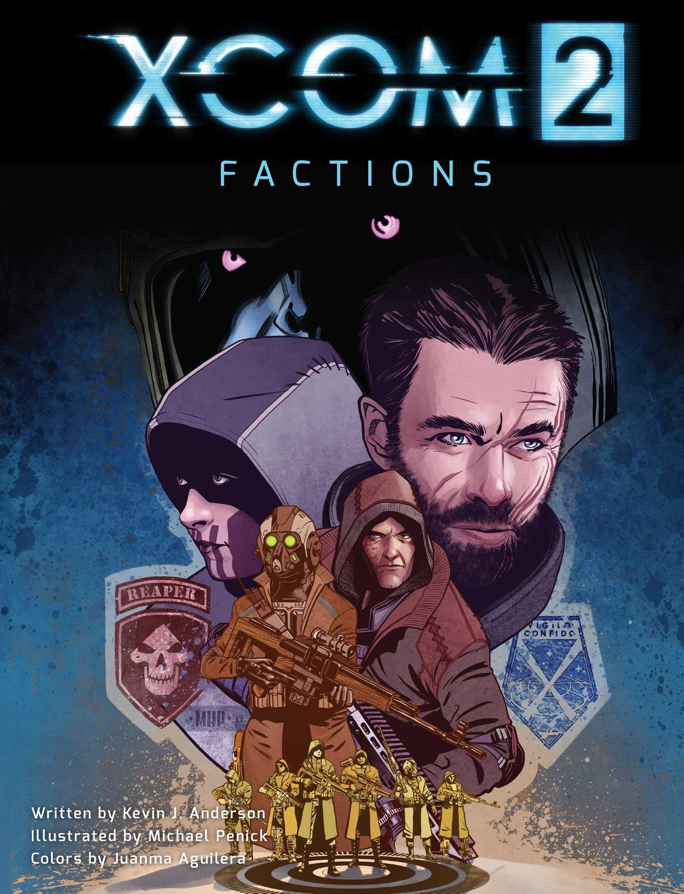 Xcom 2 factions 9781608879977 hr