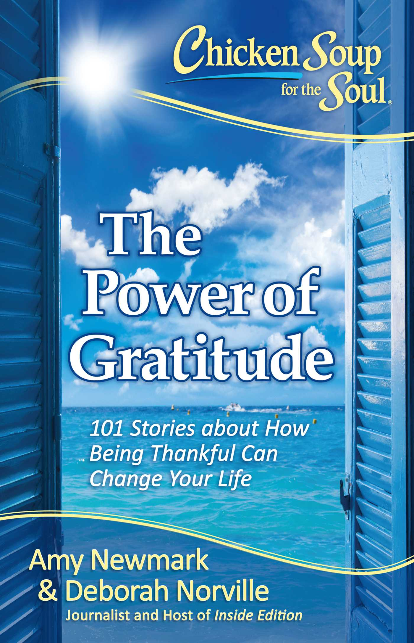 Chicken soup for the soul the power of gratitude 9781611599589 hr