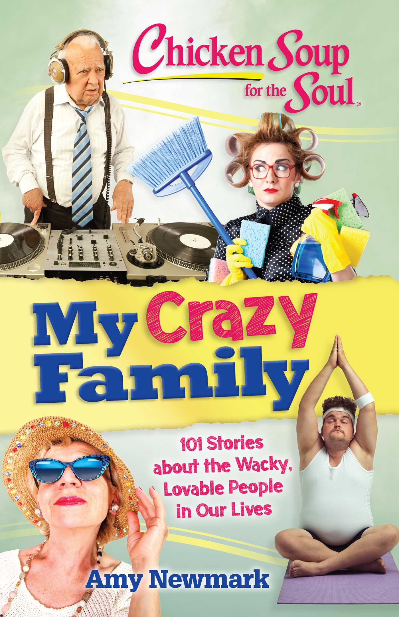 Chicken soup for the soul my crazy family 9781611599770 hr