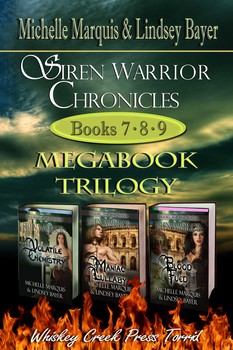 Siren Warrior Chronicles: Books 7, 8, and 9
