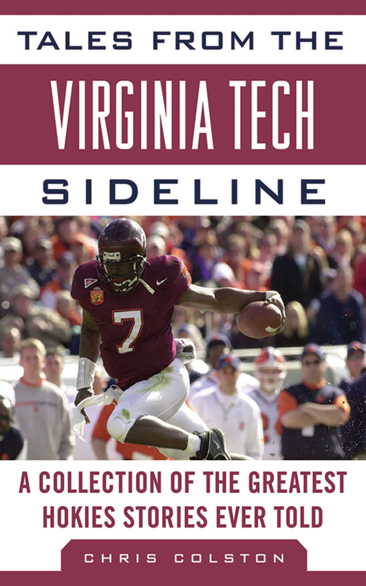 Book Cover Image (jpg): Tales from the Virginia Tech Sideline
