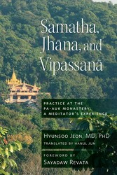Samatha, Jhana, and Vipassana