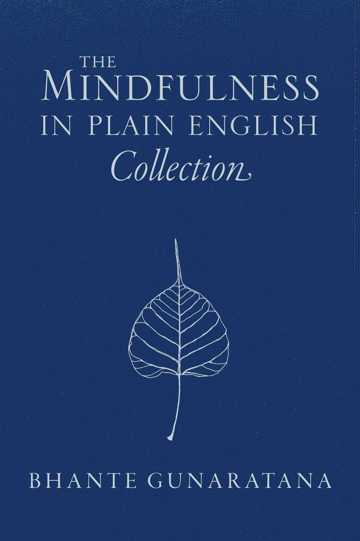 The mindfulness in plain english collection 9781614294795 hr