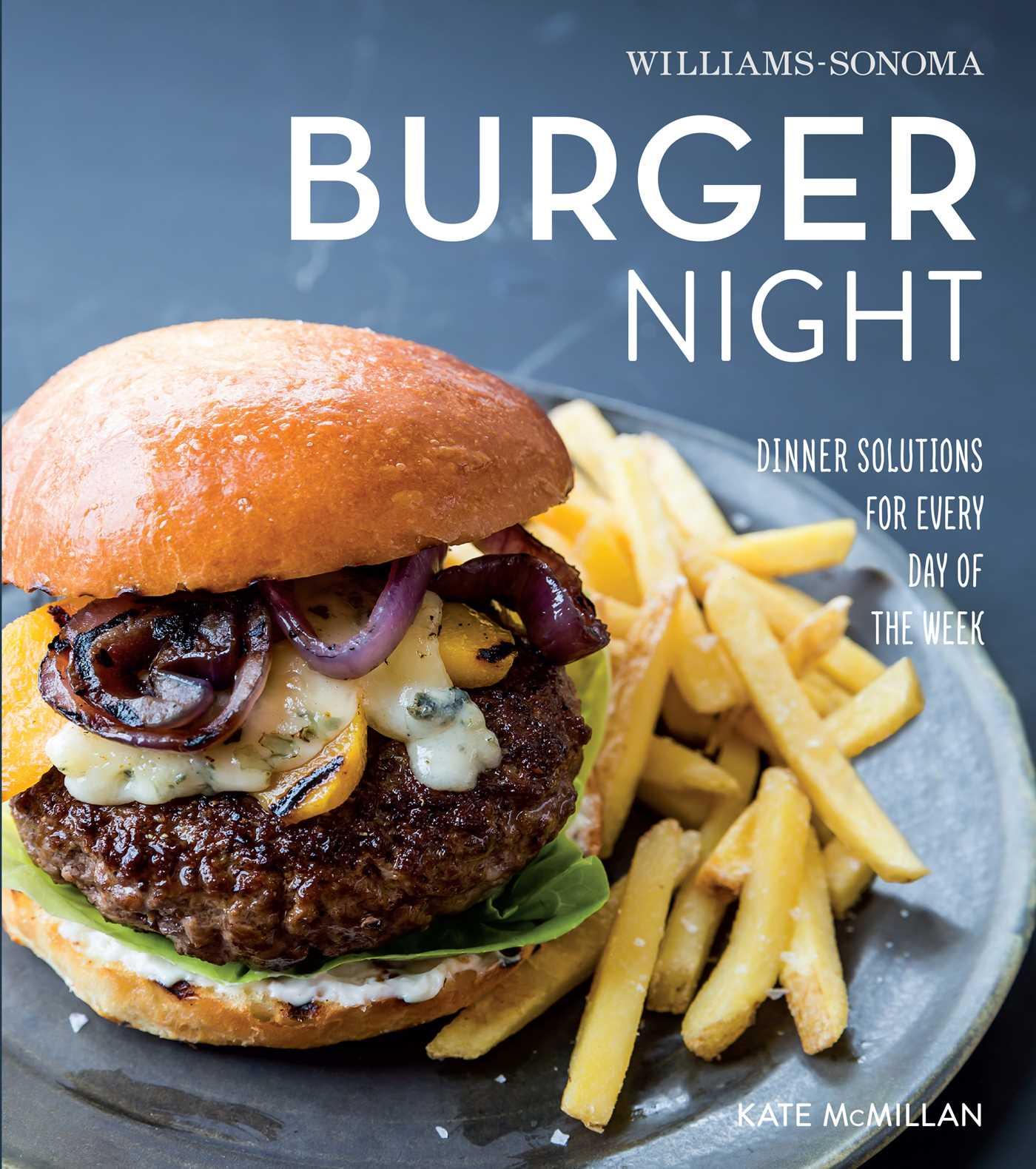 Burger night williams sonoma 9781616287344 hr