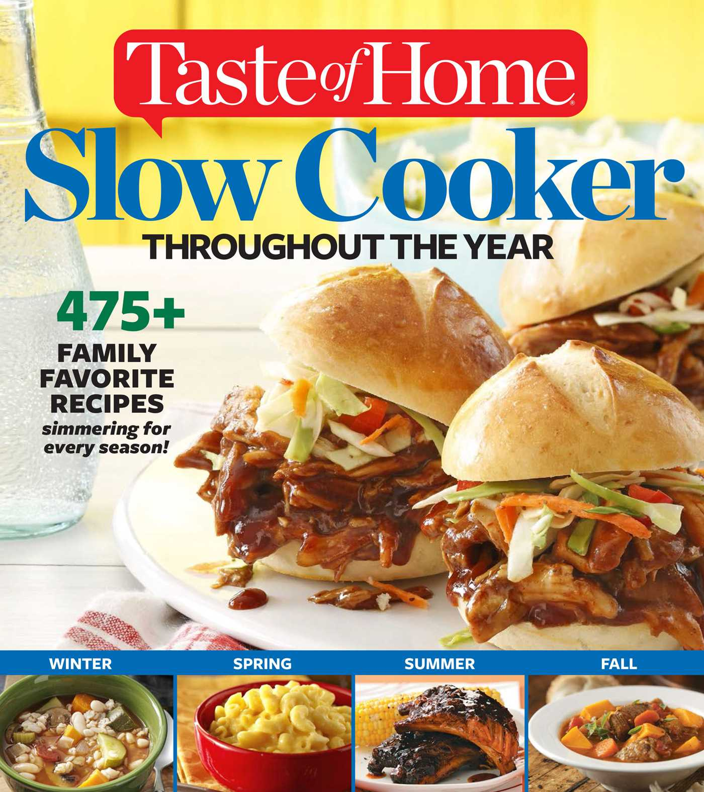Taste of home slow cooker throughout the year 9781617653452 hr