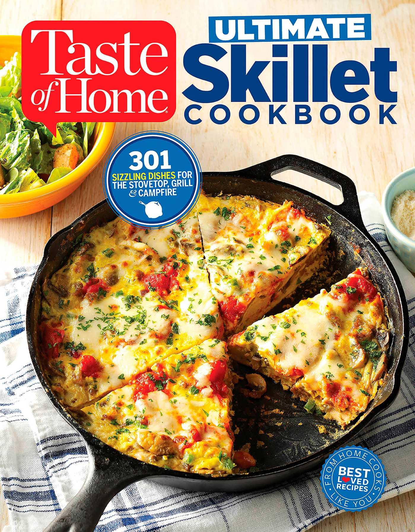 Taste of home ultimate skillet cookbook book by editors at taste taste of home ultimate skillet cookbook 9781617655517 hr forumfinder Choice Image